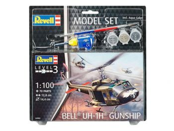 Revell Model Set Bell Gunship 04983