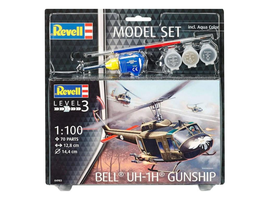 Revell Model Set Bell Gunship 04983