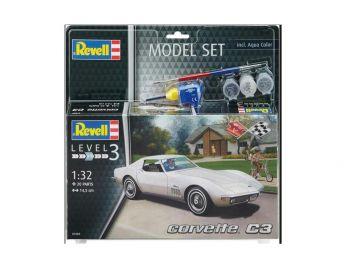 Revell Model Set - Corvette C3 07684 igrače