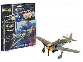 Revell Model Set - Focke Wulf Fw-190-F-8 03898 igrače