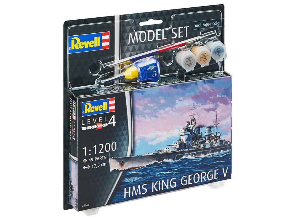 Revell Model set Battleship Missouri 05128