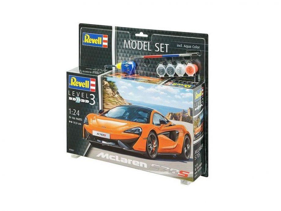 Revell Model Set – McLaren 570S 07051 igrače