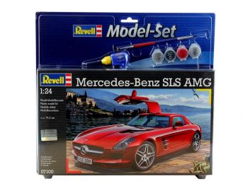 Revell Model Set - MercedesBenz SLS AMG 07100 igrače