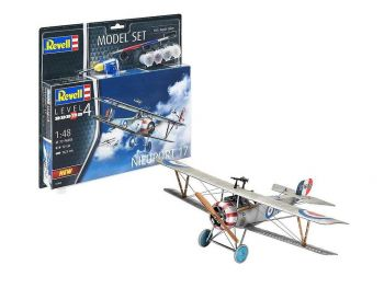 Revell Model Set - Nieuport 17 03885 igrače