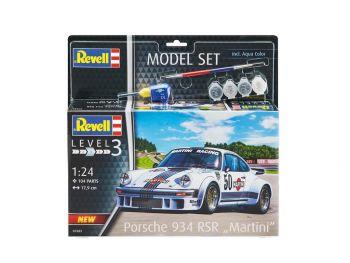 Revell Model Set - Porsche 934-RSR Martini 07685 igrače
