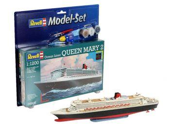 Revell Model Set - Queen Mary 2 05808 igrače