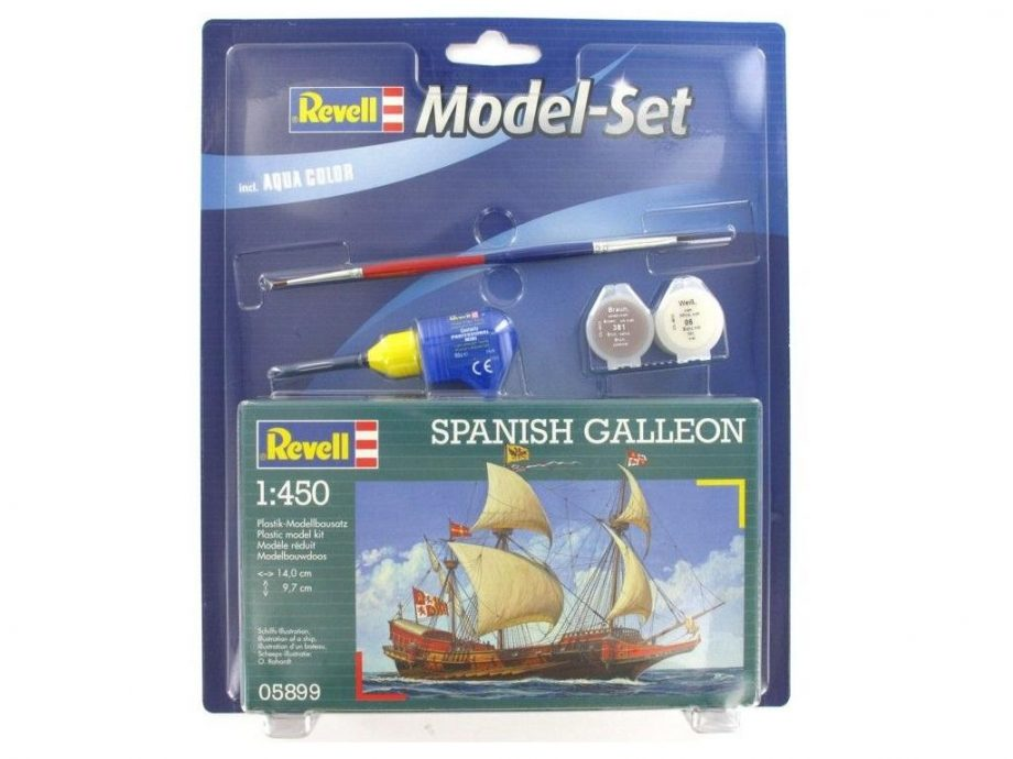 Revell Model Set - Spanish Calleon 65899 igrače