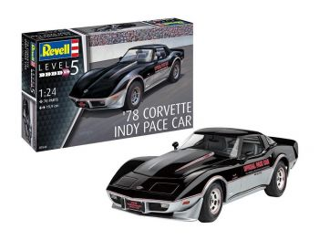 Revell maketa '78 Corvette Indy Pace car