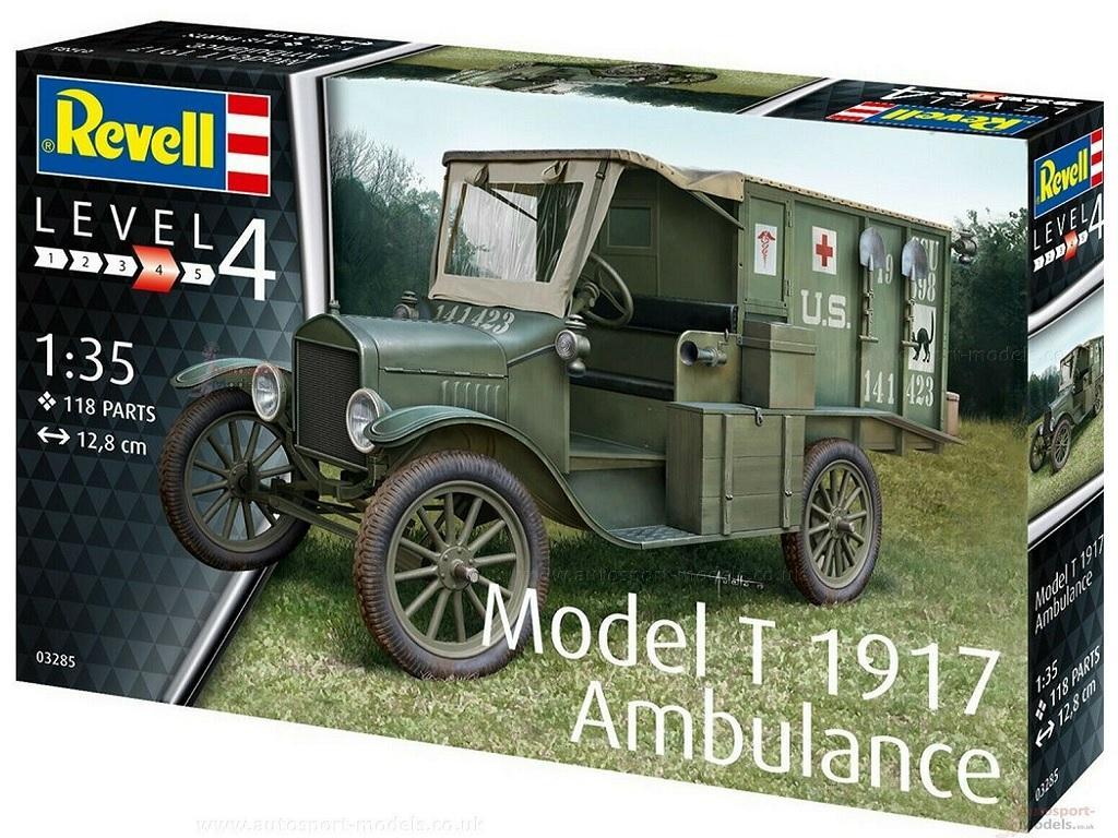 Revell maketa Model T Ambulance 03285