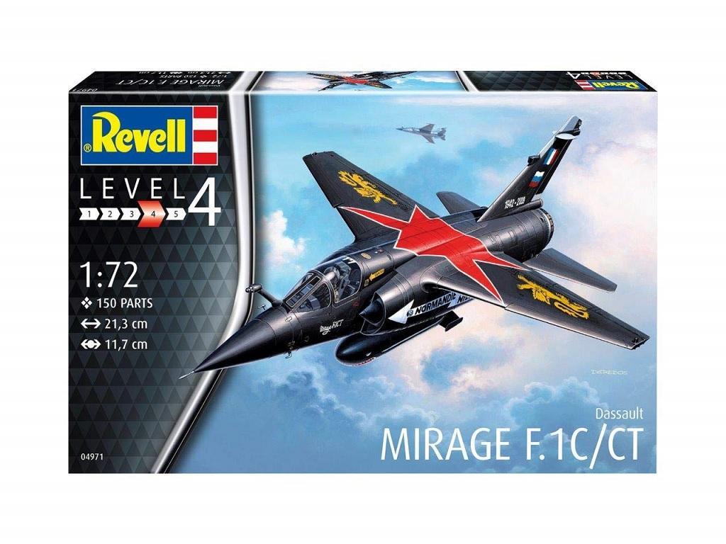 Revell maketa letala Mirage F.1C 04971