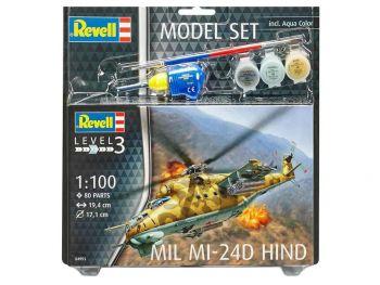 Revell model set Mil Mi-24D 04951