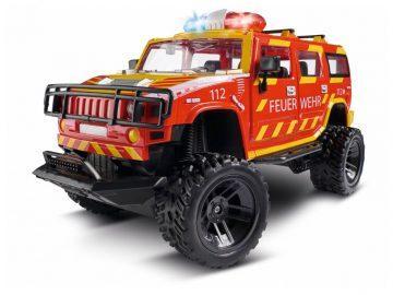 Radijsko voden gasilski avto Hummer