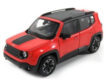 Kovinski model avta Welly Jeep Renegade Traihawk