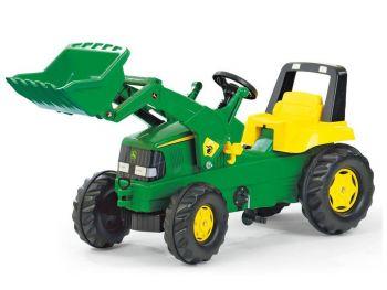Rolly Toys Otroški traktor na pedala Junior John Deere 811168