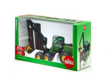 SIKU John Deere gozdni traktor eigrače