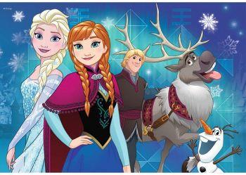 Sesavljanka Frozen 2x24 delne