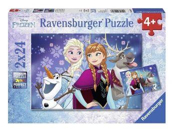 Sestavljanka Frozen 2x24 delne eigrace