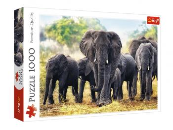 Sestavljanka Afriški sloni 1000 delna eigrače