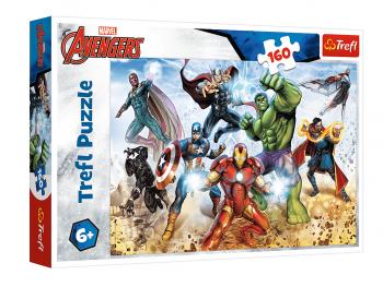 Sestavljanka Avengers pripravljeni rešiti svet eigrače