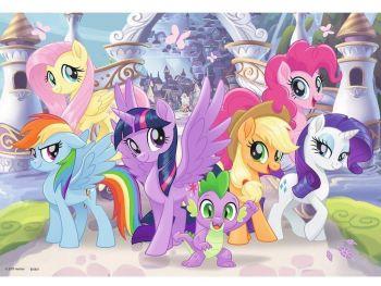 Sestavljanka My Little Pony 2x24 delne