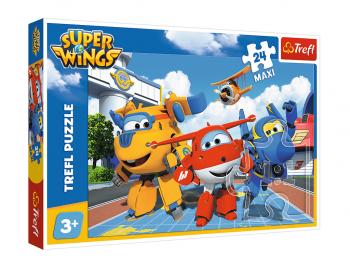 Sestavljanka Super Wings 24 delna eigrače