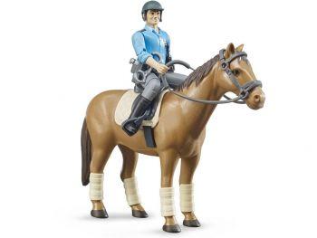 Bruder konj s policistom 62507