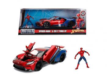 Kovinski model avto Marvel eigrače