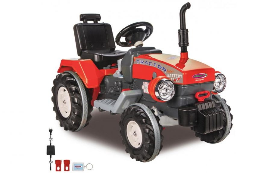Ride-on-Traktor-Power-Drag-rot-12V_b1