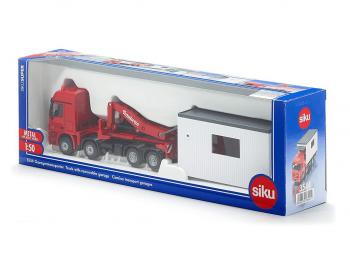 SIKU Tovornjak z garažo eigrače