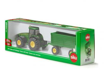 SIKU Traktor s prikolico eigrače
