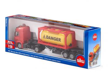 SIKU tovornjak s cisterno eigrače