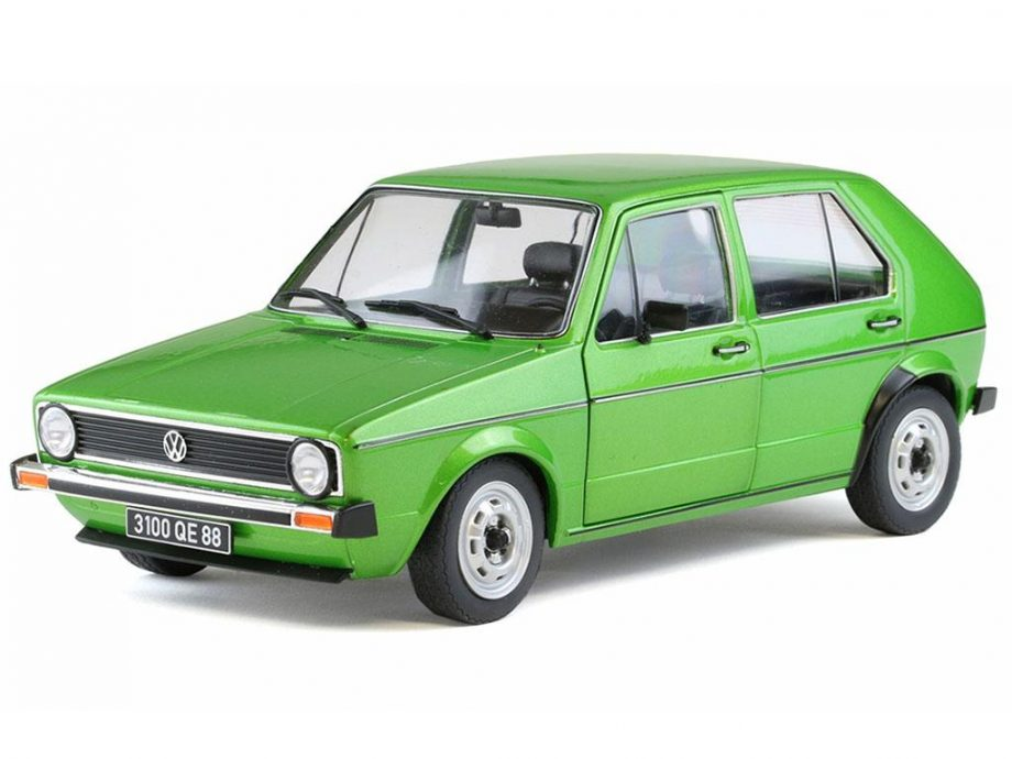 Model Avta 1:18 VW Golf 1 CL green