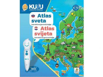Interaktivna knjiga Kuku - Atlas sveta