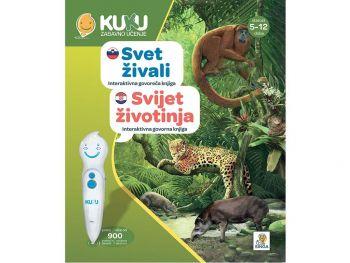 Interaktivna knjiga Kuku - Svet živali (brez pisala)