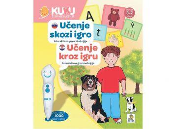 Interaktivna knjiga Kuku - Učenje skozi igro (brez pisala)