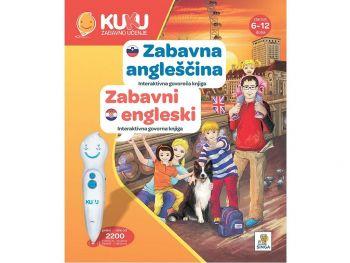 Interaktivna knjiga Kuku - Zabavna angleščina (brez pisala)