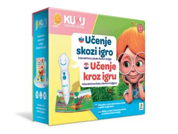 Interaktivno pisalo Kuku s knjigo - učenje skozi igro