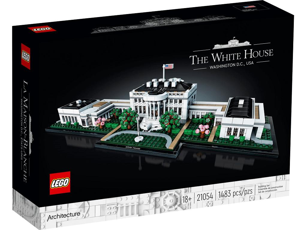 Lego Architecture Bela hiša 21054