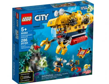 Lego City Oceanska raziskovalna podmornica 60264