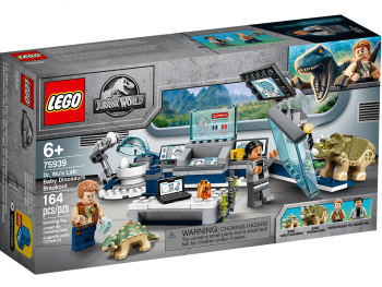 Lego Jurassic World Dr. Wujev laboratorij 75939