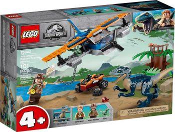Lego Jurassic World Velociraptor: reševalna akcija z dvokrilcem 75942