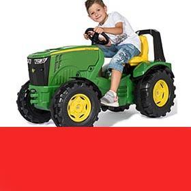 Traktorji na pedala