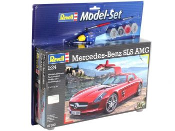 Revell model set Mercedes SLS AMG 1:24 67100