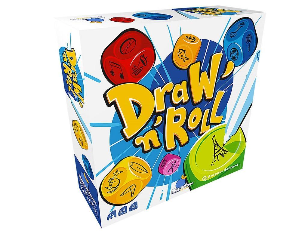Družabna igra Draw n Roll