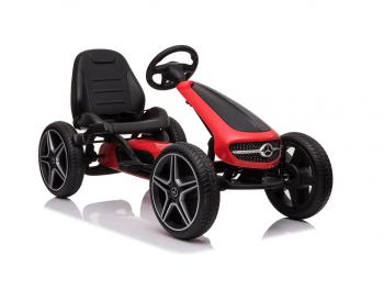 Gokart na pedala Mercedes - rdečs eigrače