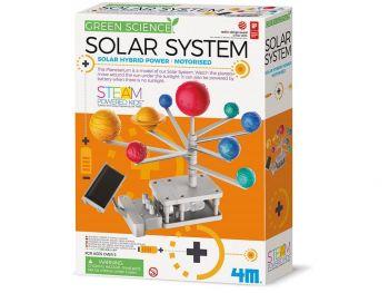 Hibridni sončni sistem na sončni pogon