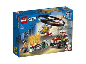 Lego City Gasilski helikopter na pomoč 60248