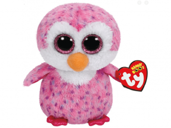 Plišaste igrače Ty Pingvin roza 15cm