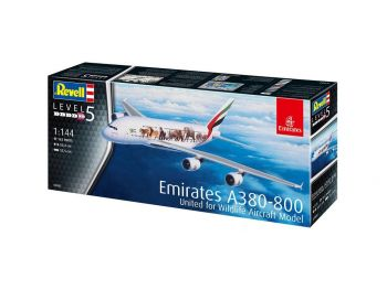 Revell Airbus A380-800 Emirates 03882