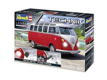 Revell Volkswagen T1 Samba Bus 00455